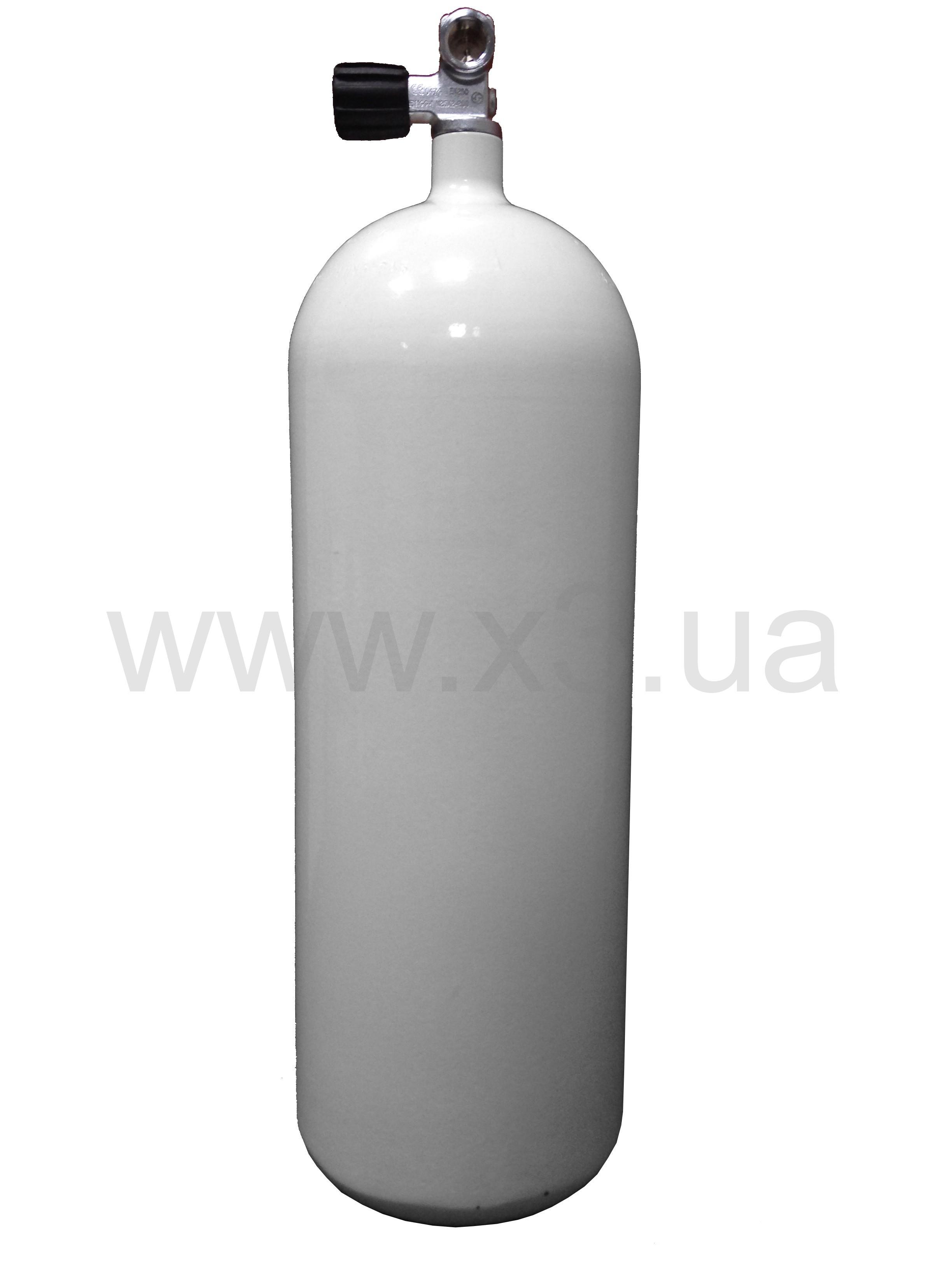 deepzone Баллон (акваланг)DEEPZONE баллон стальной 16 л, 230 Bar, 171 мм с вентилем CONCAVE