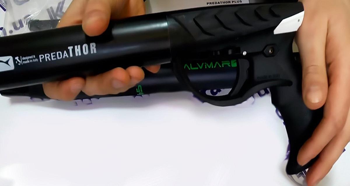 Ружье Salvimar Predathor Vuoto 55 Special с пневмовакуумным надульником, без регулятора боя